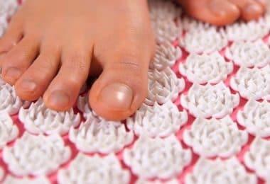 Tapis d'acupression pour pieds